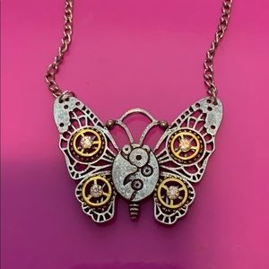 Jewelry - Mechanical Butterfly Necklace